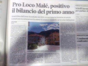 articolo dal quotidiano il Trentino